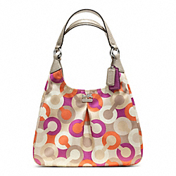COACH F23359 Madison Diagonal Op Art Maggie