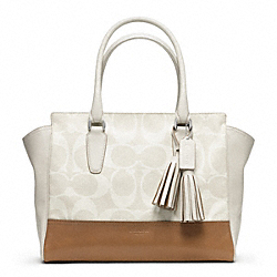 COACH F23406 Signature Canvas Medium Candace Carryall