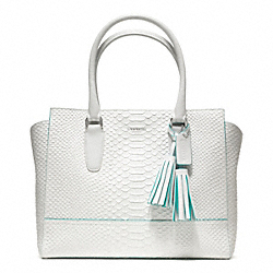 COACH F23415 - PYTHON MEDIUM CANDACE CARRYALL ONE-COLOR
