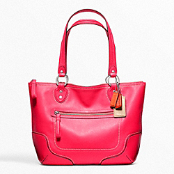 COACH F23441 - POPPY LEATHER SMALL TOTE ONE-COLOR