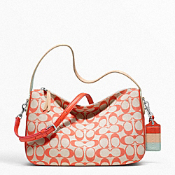 COACH F23471 - LEGACY WEEKEND PRINTED SIGNATURE CROSSBODY ONE-COLOR