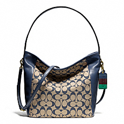 COACH F23488 Weekend Printed Signature Shoulder Bag