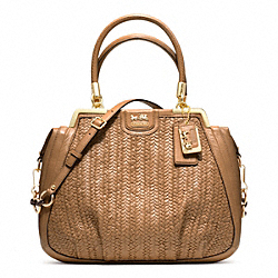 COACH F23489 - MADISON PINNACLE WOVEN LILLY GDBAD