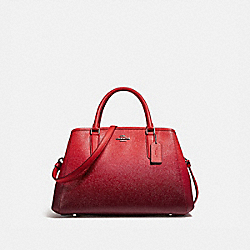COACH F23507 - SMALL MARGOT CARRYALL SILVER/WATERMELON