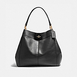 LARGE LEXY SHOULDER BAG - f23511 - LIGHT GOLD/BLACK