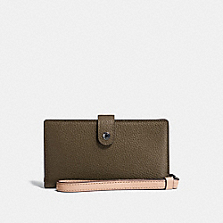 COACH F23528 - PHONE WRISTLET IN COLORBLOCK FATIGUE MULTI/DARK GUNMETAL