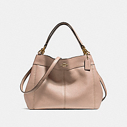 SMALL LEXY SHOULDER BAG - f23537 - NUDE PINK/LIGHT GOLD