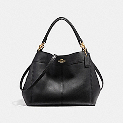 COACH F23537 Small Lexy Shoulder Bag IMITATION GOLD/BLACK