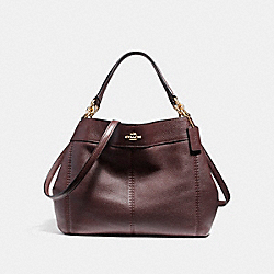 SMALL LEXY SHOULDER BAG - f23537 - IMITATION GOLD/OXBLOOD 1