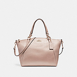 SMALL KELSEY SATCHEL - f23538 - LIGHT GOLD/PLATINUM