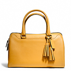 COACH F23574 Leather Haley Satchel BRASS/MUSTARD