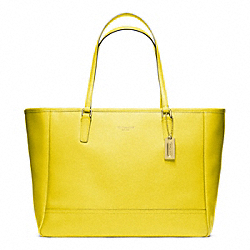 COACH F23576 - SAFFIANO MEDIUM CITY TOTE B4BDK