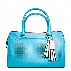 COACH F23577 - PERFORATED LEATHER HALEY SATCHEL ONE-COLOR
