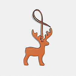 COACH F23579 Deer Ornament GIFTING ORANGE