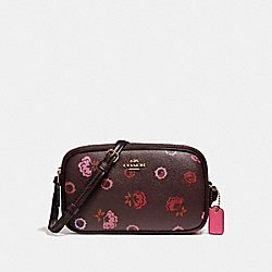 CROSSBODY POUCH WITH PRIMROSE PRINT - f23643 - IMFCG