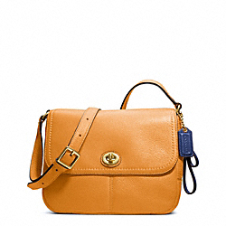 COACH F23663 - PARK LEATHER VIOLET BRASS/ORANGE SPICE