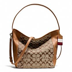 COACH F23702 Weekend Signature C Shoulder Bag