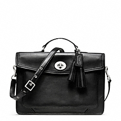 ARCHIVAL SLIM BRIEFCASE - f23703 - F23703SVBK