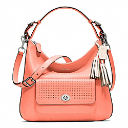 COACH F23704 - PERFORATED LEATHER COURTENAY HOBO ONE-COLOR