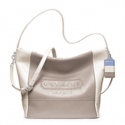 COACH F23711 Legacy Weekend Colorblock Leather Shoulder Bag