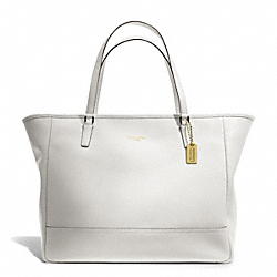COACH F23822 - LARGE CITY TOTE BRASS/CHALK