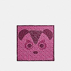 COACH BEARS BANDANA - f23870 - MAHOGANY/WHITE