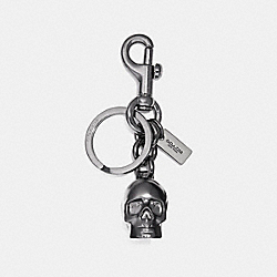 COACH F23875 Skull Ring DULL GUNMETAL