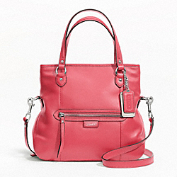 COACH F23901 - DAISY LEATHER MIA SILVER/CORAL