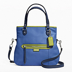 COACH F23911 Daisy Spectator Leather Mia SILVER/MOONLIGHT BLUE MULTI