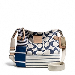 COACH F23929 Daisy Patchwork File Bag