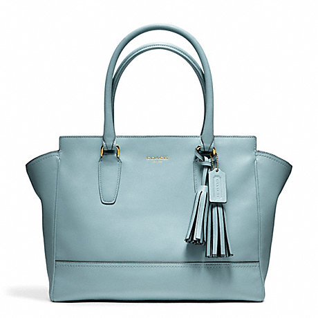 COACH F24201 LEATHER MEDIUM CANDACE CARRYALL ONE-COLOR