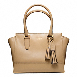 COACH F24202 Leather Candace Carryall BRASS/SAND