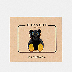 COACH F24355 Fuzz Pin MULTICOLOR