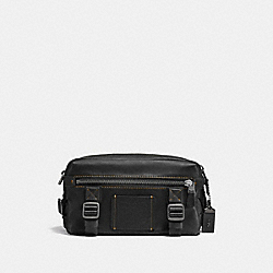 COACH F24370 - UTILITY PACK BLACK/BLACK COPPER FINISH