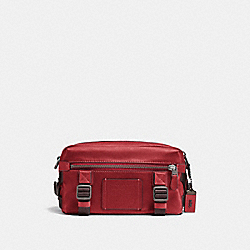 COACH F24370 Utility Pack MAROON/BLACK COPPER FINISH