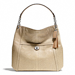 PARK PYTHON HOBO - f24383 - SILVER/NATURAL