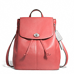 COACH F24385 - PARK LEATHER BACKPACK ONE-COLOR