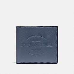 DOUBLE BILLFOLD WALLET - f24647 - DENIM