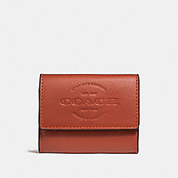 COIN CASE - f24652 - TERRACOTTA