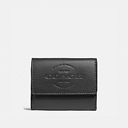 COACH F24652 Coin Case BLACK