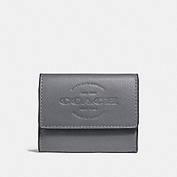 COACH F24652 Coin Case GRAPHITE