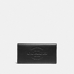 COACH F24653 Breast Pocket Wallet BLACK