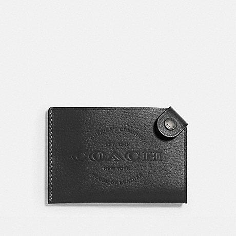 COACH F24659 CARD CASE BLACK