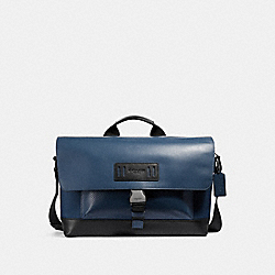 TERRAIN BIKE BAG - f24673 - DENIM/BLACK ANTIQUE NICKEL
