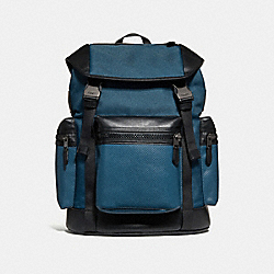 TERRAIN TREK PACK - COACH f24677 - DENIM/BLACK ANTIQUE NICKEL