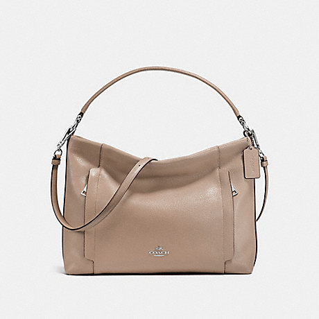 COACH f24770 SCOUT HOBO SILVER/STONE