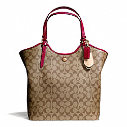 COACH F24785 - PEYTON SIGNATURE TOTE ONE-COLOR
