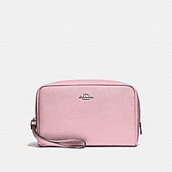 COACH F24797 Boxy Cosmetic Case 20 CARNATION/SILVER