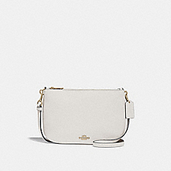 TRANSFORMABLE CROSSBODY - f24799 - CHALK/LIGHT GOLD