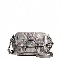 COACH F24849 - CAMPBELL EXOTIC LEATHER CAMERA BAG ONE-COLOR
